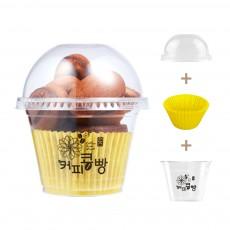 원스 커피콩빵 포장용 용기세트 300개
