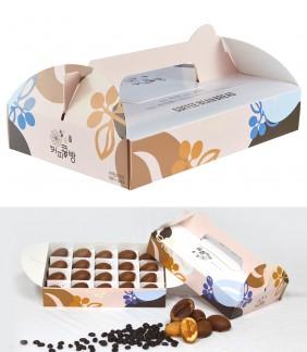 원스 커피콩빵 포장용 선물박스 50개