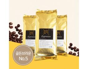 커피원두 골든브라운 NO.5  5kg